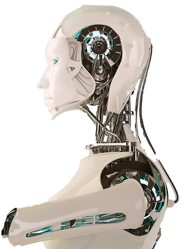 part of a larger robot - body