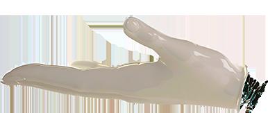 part of a larger robot - hand